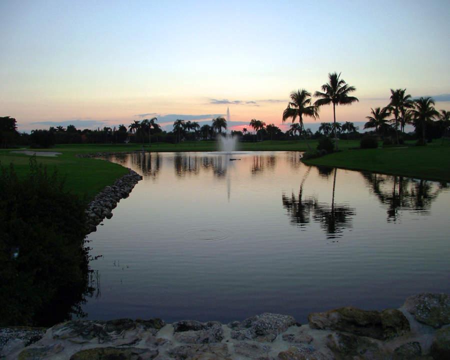 Boca Ratón cuenta con campos de golf