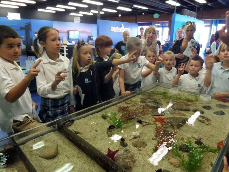 El museo Explorocean en Newport Beach cuenta con varias exposiciones
