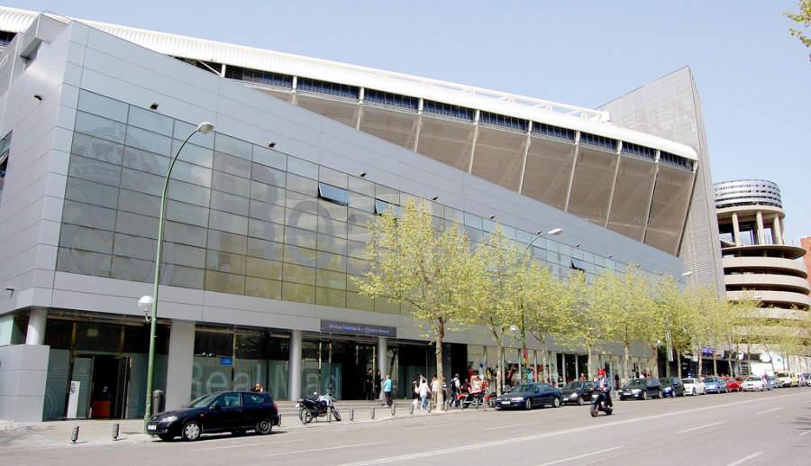 Estadio Santiago Bernabéu, propiedad del Real Madrid