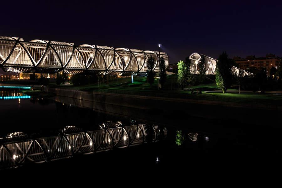 Puente Monumental de Arganzuela en Madrid