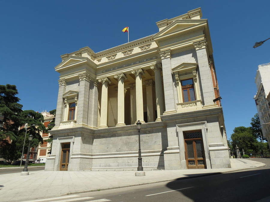 Casón del Buen Retiro en Madrid