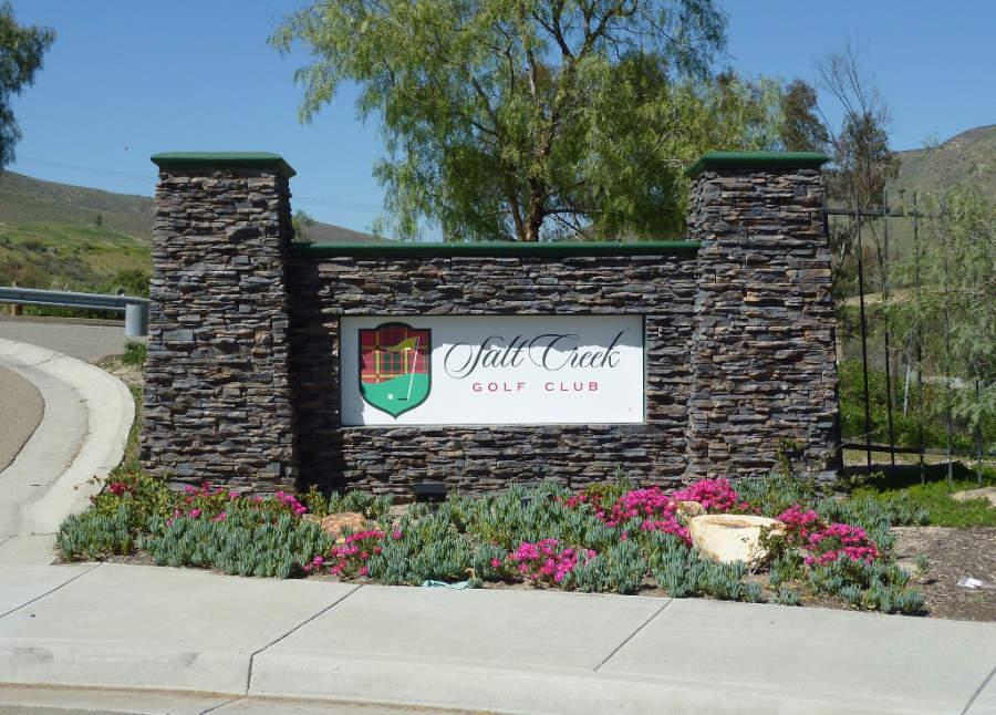 Campo de Golf Salt Creek en la ciudad de Chula Vista
