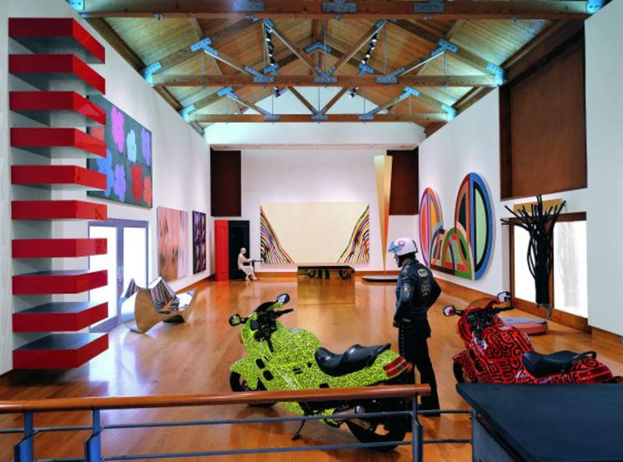 Interior del recinto Frederick R Weisman Foundation