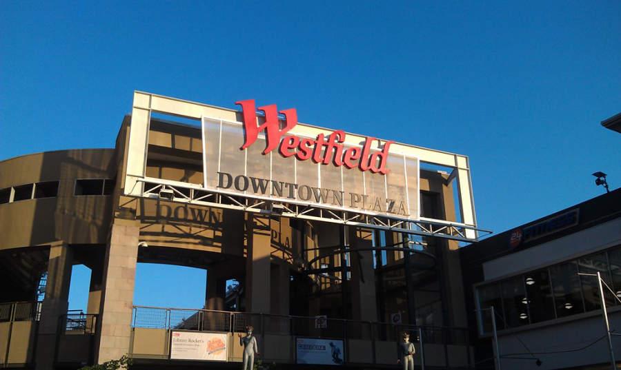 Un centro comercial en la ciudad de Sacramento