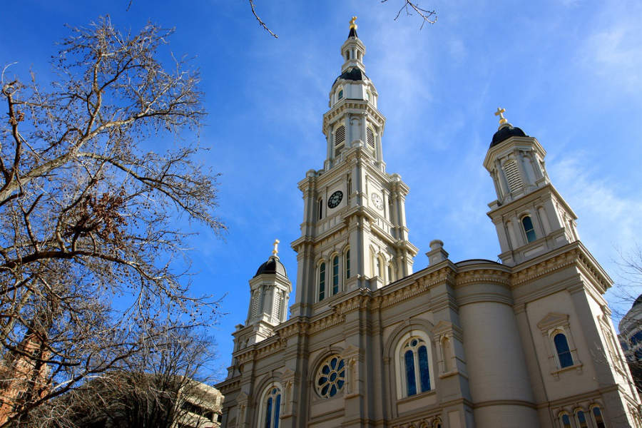 Fachada de la Catedral del Santísimo Sacramento