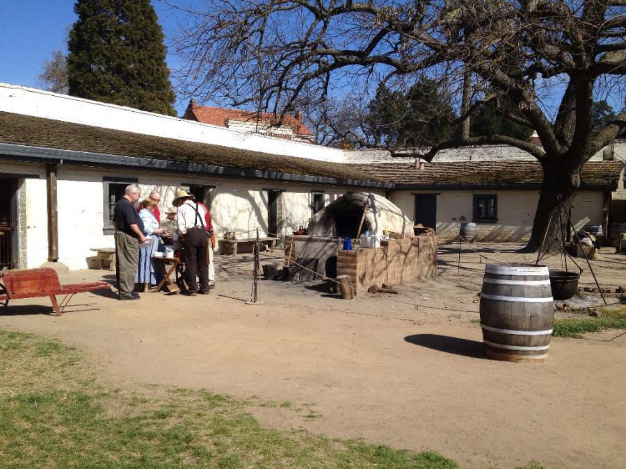 Parque Sutter's Fort en Sacramento