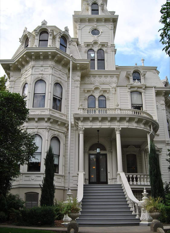 Governor's Mansion fue la residencia oficial de 13 gobernadores de California
