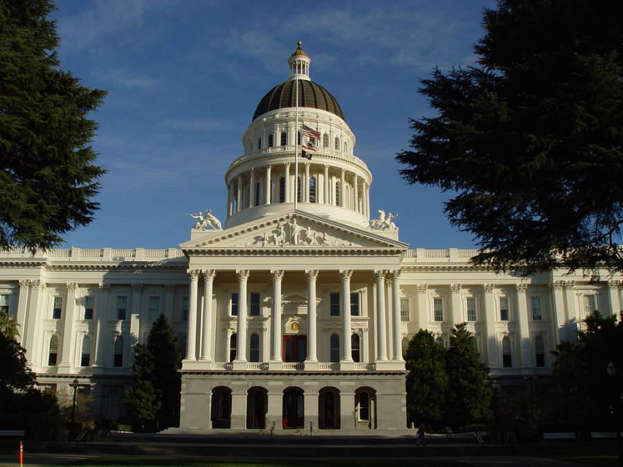 Edificio del Capitolio Estatal de California en Sacramento