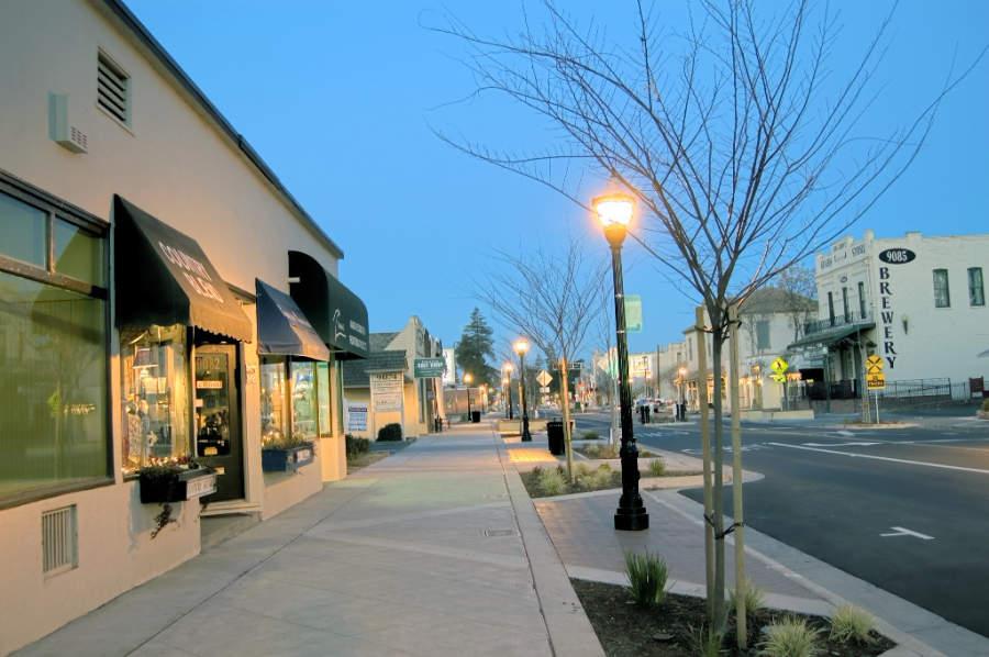 Centro histórico de la ciudad de Elk Grove