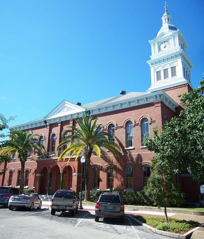 Palacio de Justicia del Condado de Nassau en Fernandina Beach