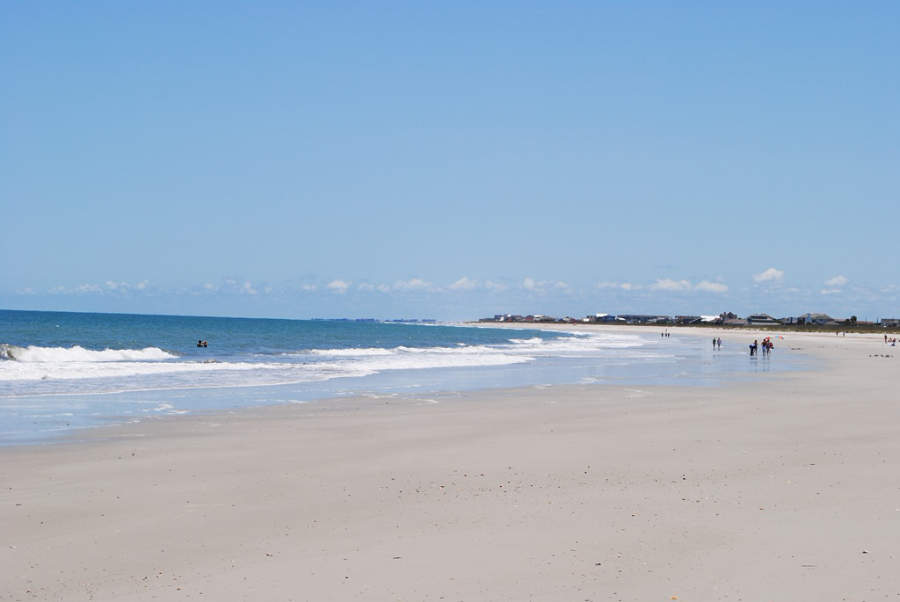 Visita una de las playas cerca de Fernandina Beach