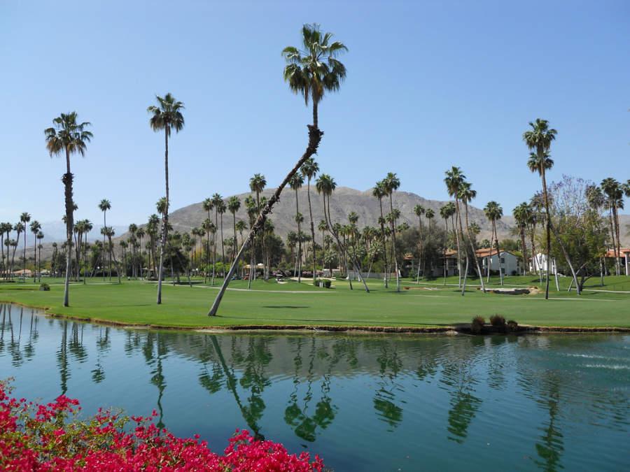 Campo de golf en Rancho Mirage