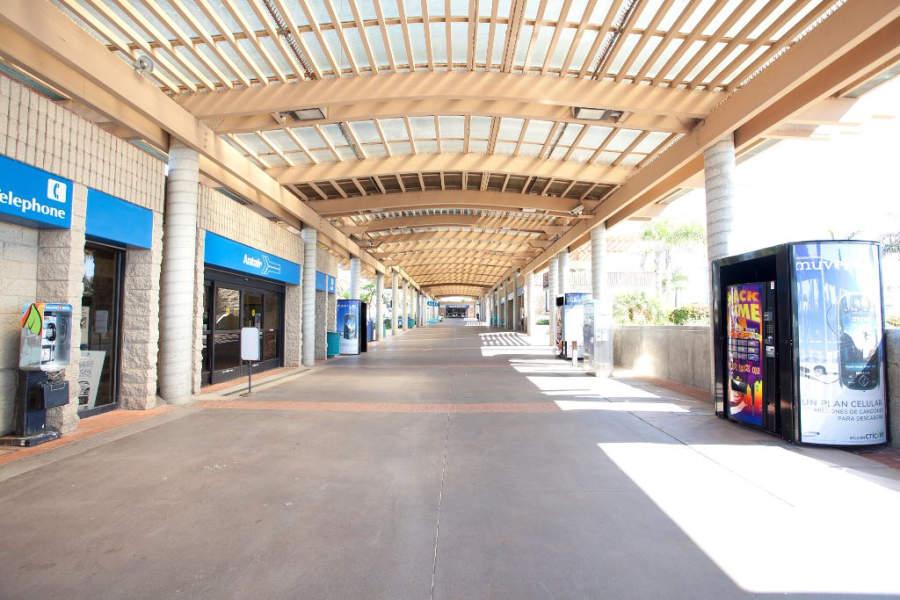 Centro comercial de la ciudad de Oceanside, en California