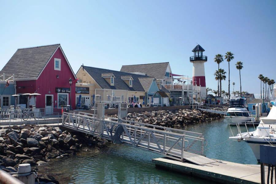 Marina de Oceanside, al norte de San Diego