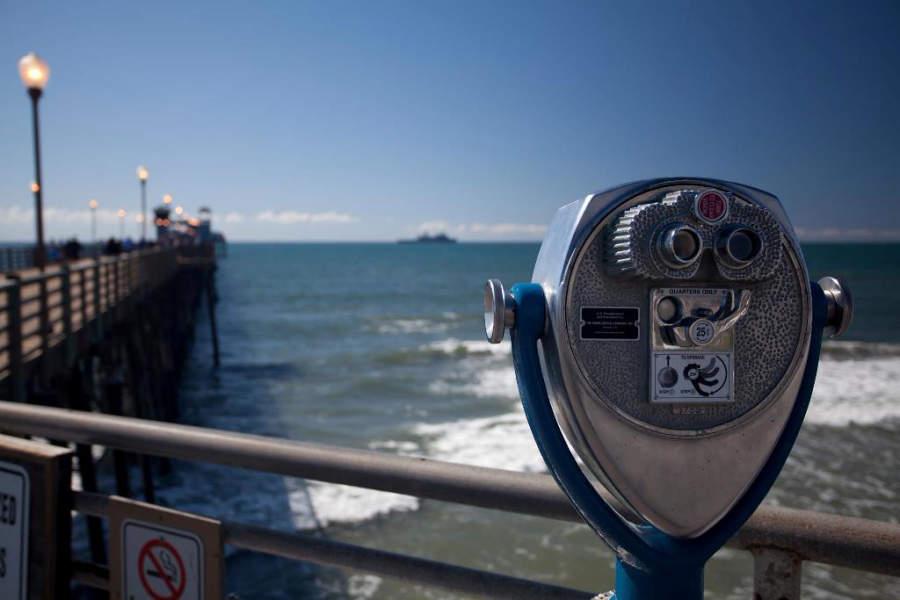 El Muelle de Oceanside brinda espectaculares vistas al mar