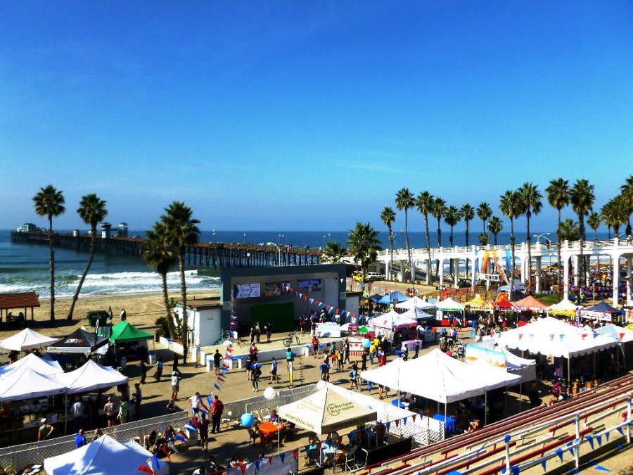 Oceanside es el punto de partida para la competencia de ciclismo Race Across America