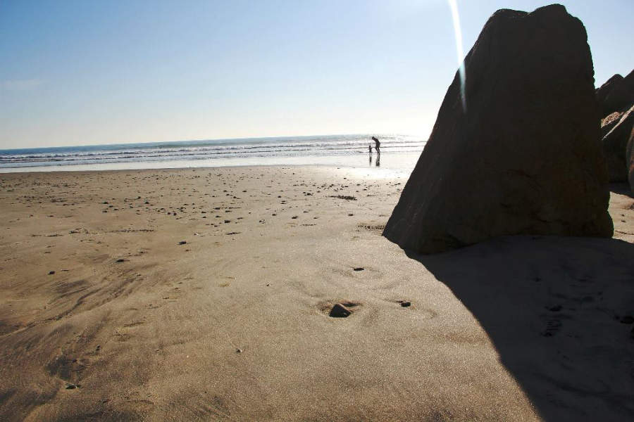 Playa en la ciudad de Oceanside, California
