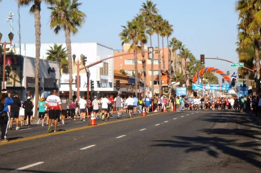 Evento deportivo en la ciudad de Oceanside, California
