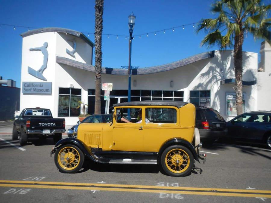 Museo Californiano de Surf en la ciudad de Oceanside