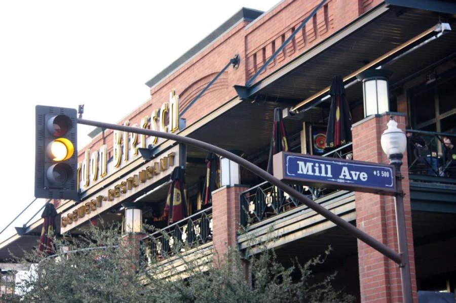 Distrito Mill Avenue en Tempe, Arizona