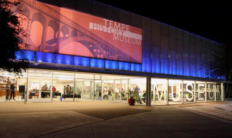 El Museo de Historia de Tempe tiene exhibiciones que narran los orígenes de la ciudad
