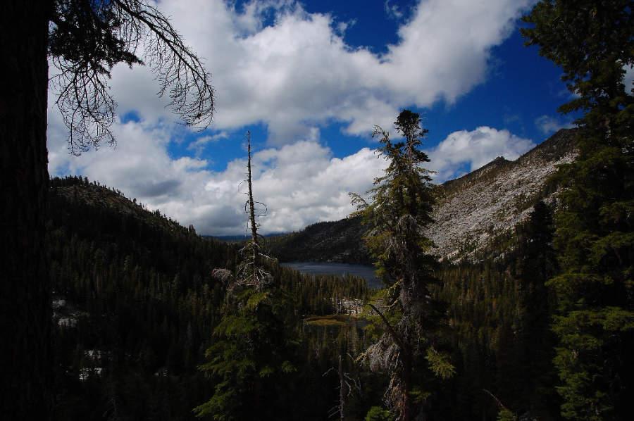Observa los alrededors del lago Tahoe en Tahoma