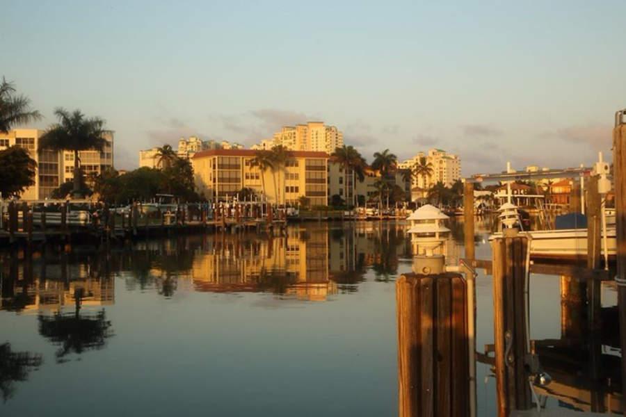 Puesta de sol en Marco Island