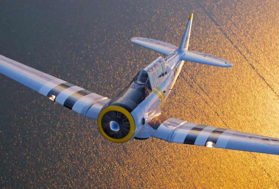 El Museo de Aviación Cavanaugh exhibe algunos aviones de la Segunda Guerra Mundial