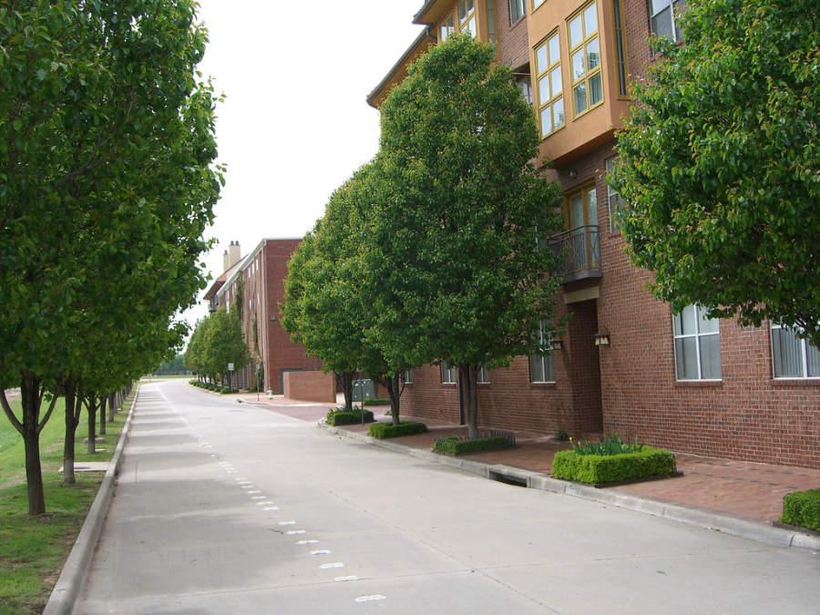 Vecindario en la ciudad de Addison