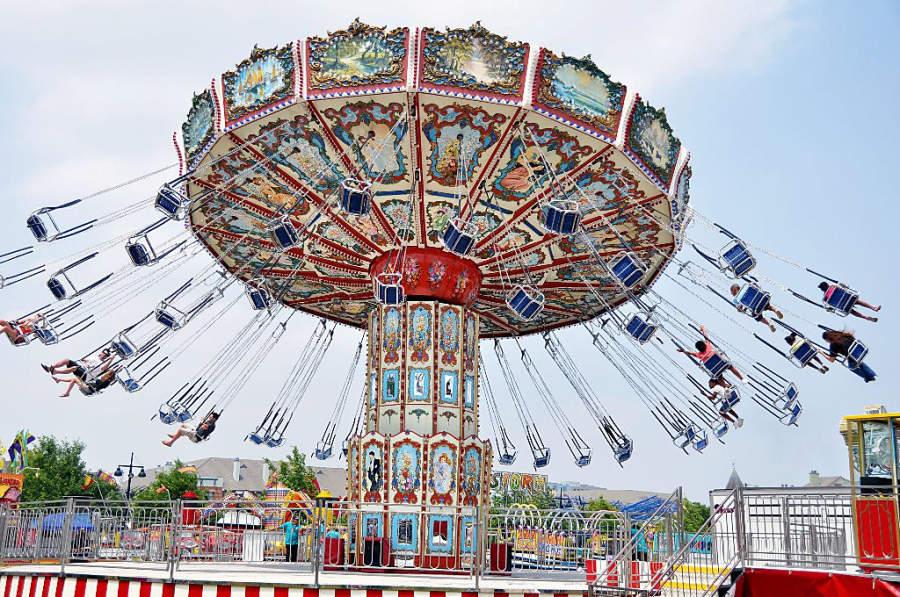 Feria de la ciudad de Addison, ubicada al norte de Dallas