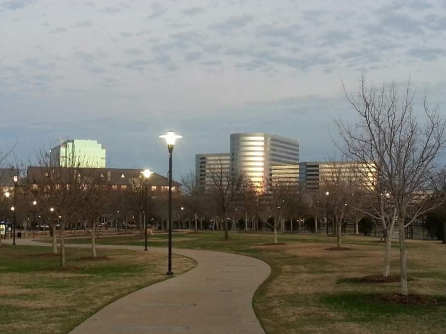 Vista de la ciudad de Addison, Texas