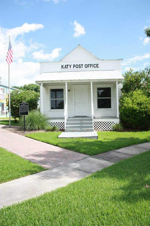 La antigua oficina de correos en Katy es una casa histórica restaurada