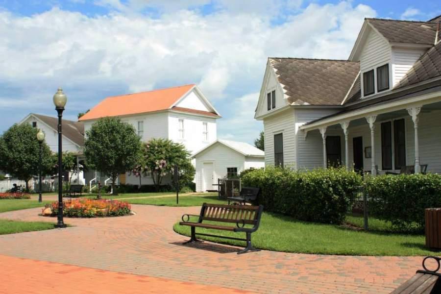 La ciudad de Katy dispone de varios parques