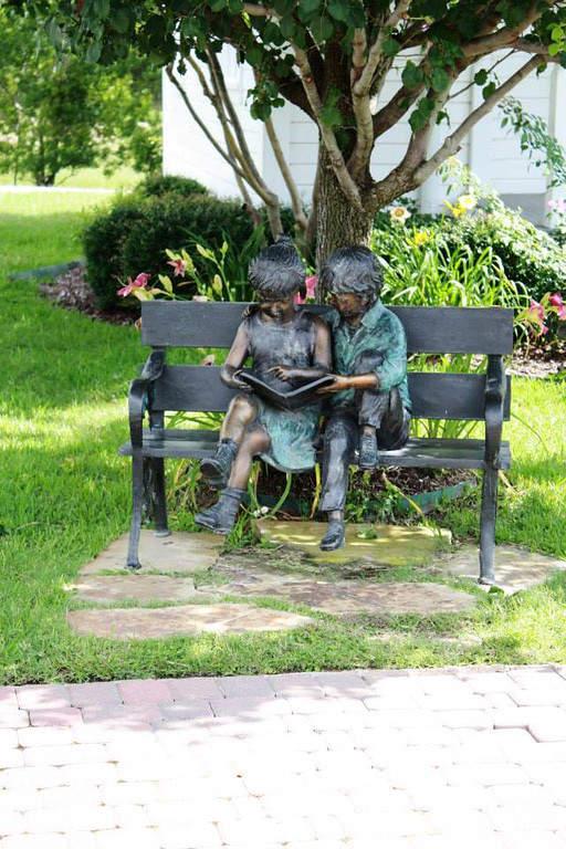 Escultura en un parque en Katy, Texas