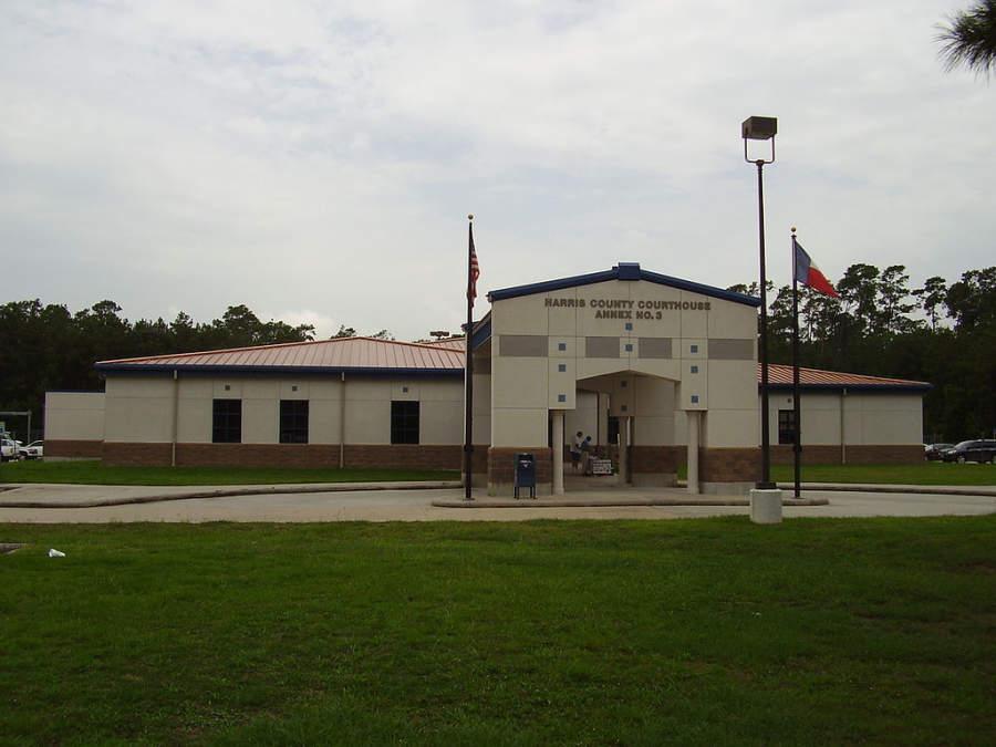 Corte del Condado de Harris en Humble, Texas