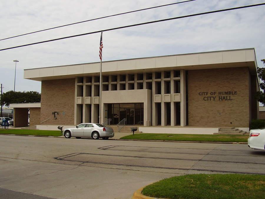 Edificio del ayuntamiento de Humble