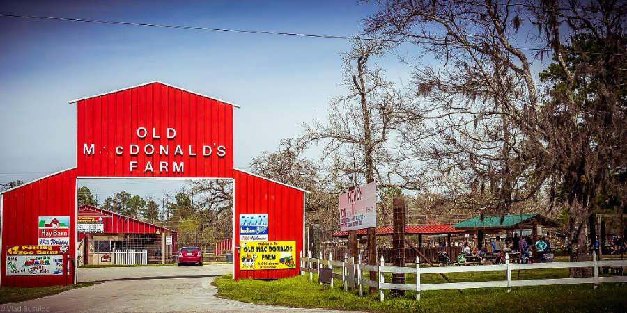 La granja Old MacDonald Farm es muy popular entre los niños