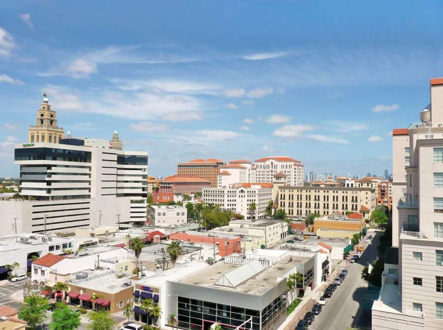 La ciudad de Coral Gables está ubicada en el condado de Miami-Dade
