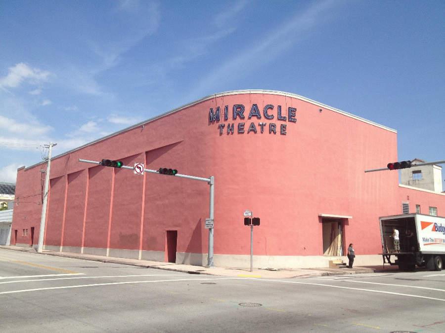 Teatro Miracle, en el centro de Coral Gables
