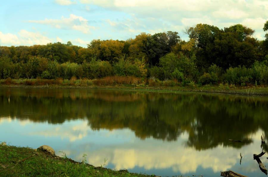 Reserva Natural John F Burke en Farmers Branch, Texas