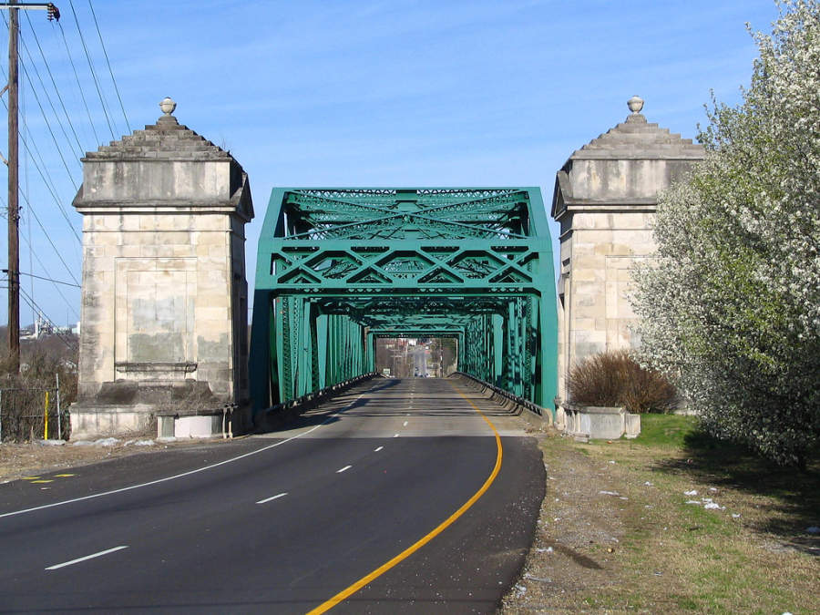 Puente Old Hickory en Nashville