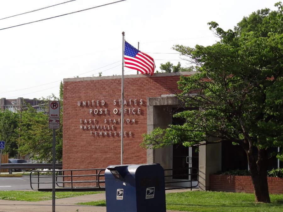 Oficina de correos en Nashville, Tennessee