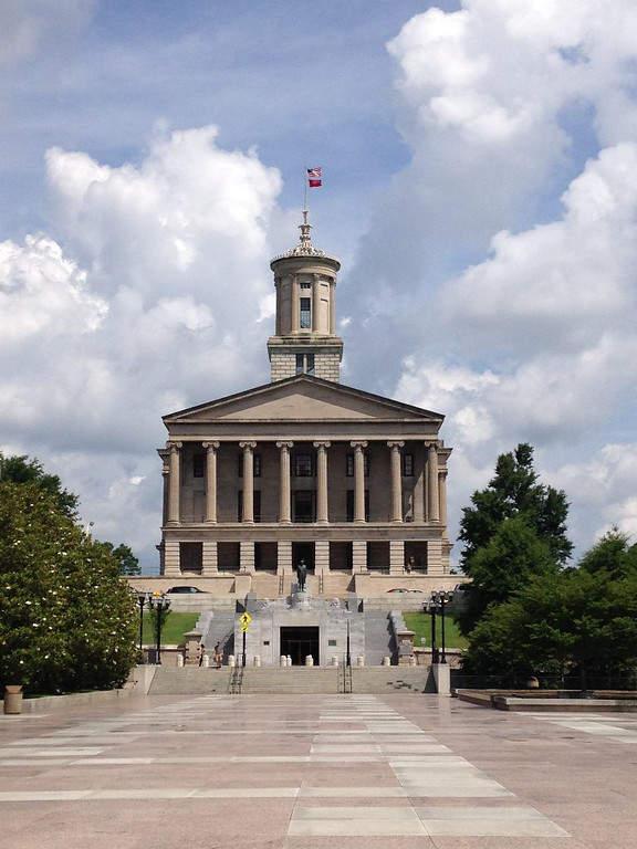 Conoce el Capitolio Estatal de Tennessee
