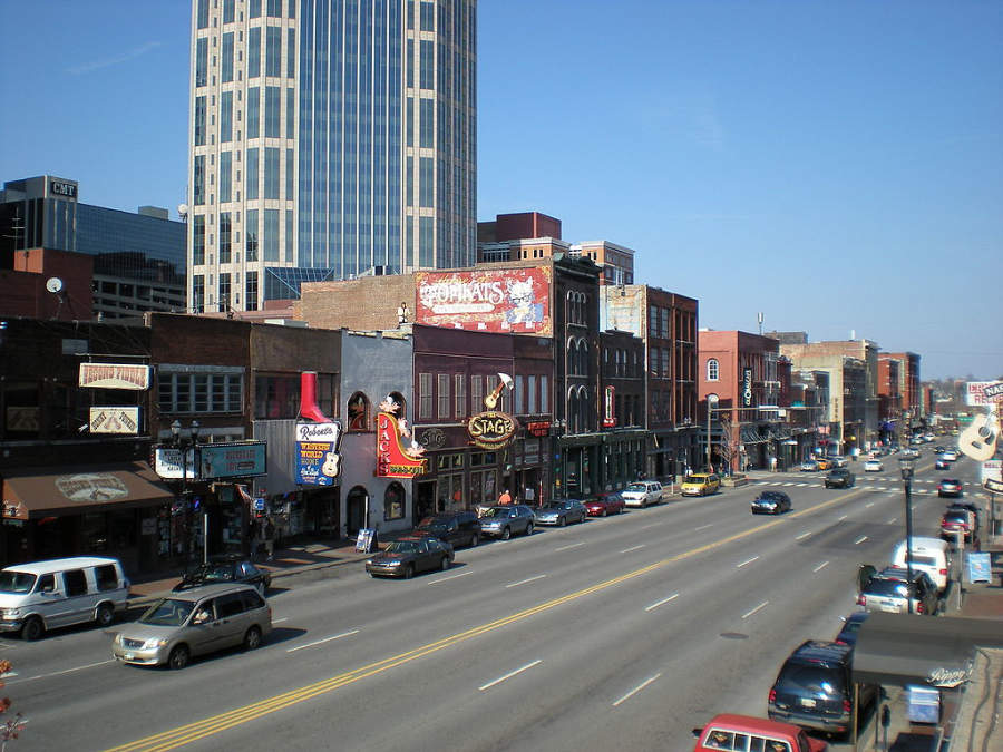 Conoce el centro de Nashville