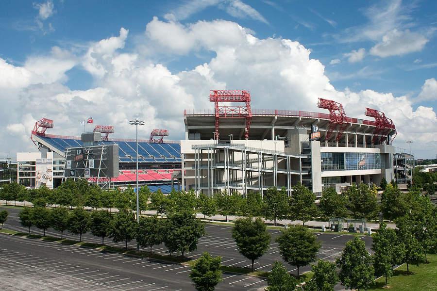 Visita el estadio de fútbol americano LP Field en Nashville