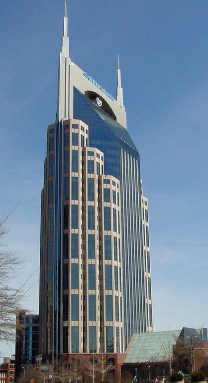 Edificio de la AT & T en Nashville