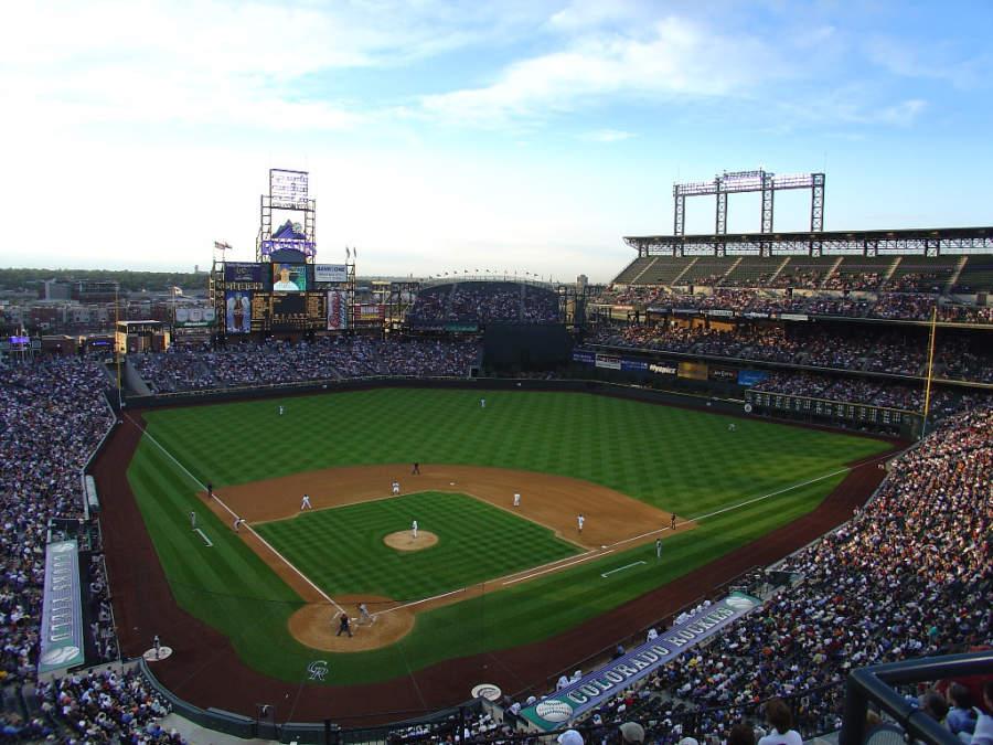 Estadio de béisbol Coors Field en Denver, Colorado