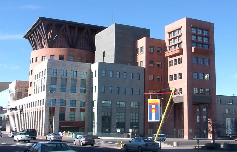 Edificio de la Biblioteca Pública de Denver