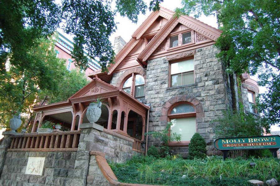 El Museo Molly Brown es uno de los más visitados en la ciudad de Denver