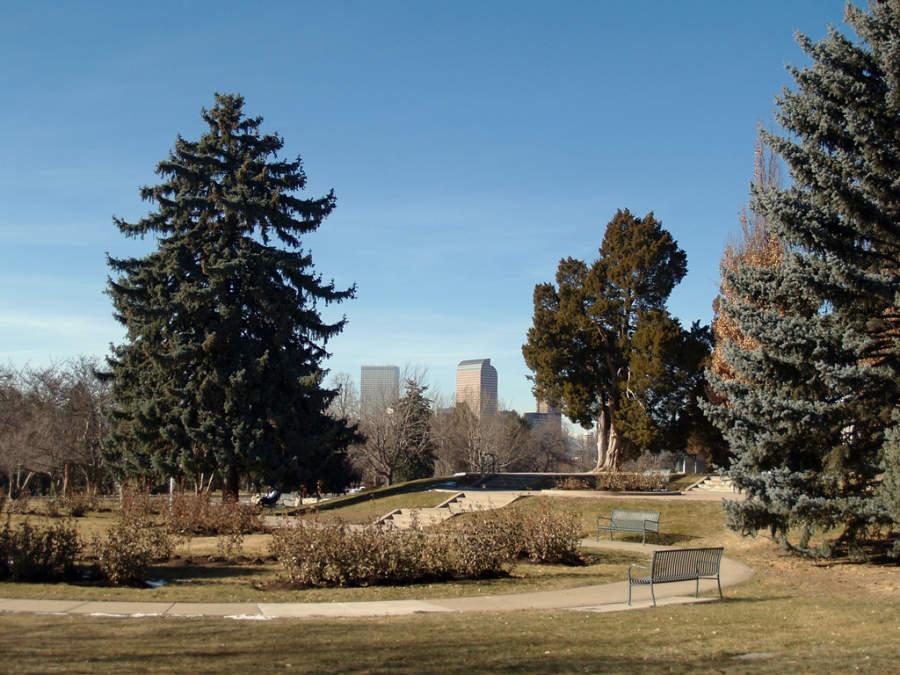 La ciudad de Denver, Colorado cuenta con áreas verdes